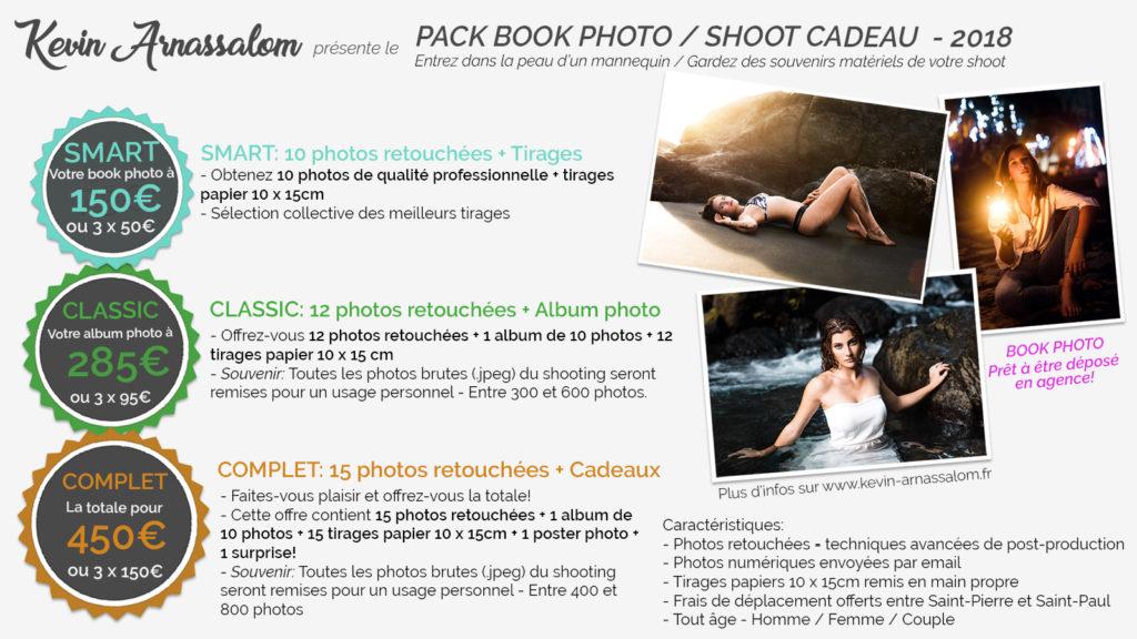 Tarifs pour la création d'un book photo pour entrer en agence de mannequin