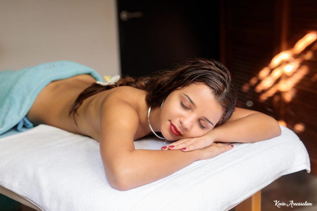 Photo de Deborah: Massage relaxant à l'hôtel Villa Delisle (Réunion)