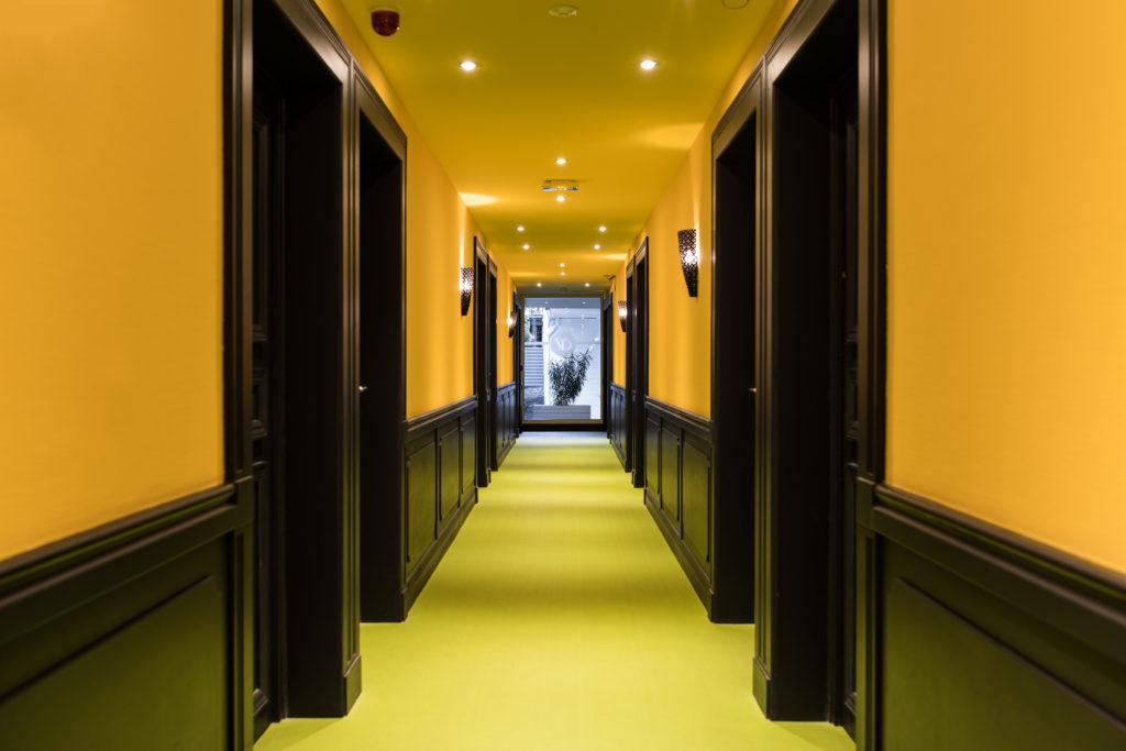 """Hôtel Villa Delisle 4 étoiles - Couloir de l'espace """"Bananier"""""""