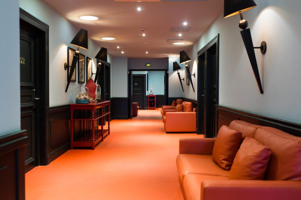 """Hôtel Villa Delisle 4 étoiles - Couloir de l'espace """"Ocean"""""""